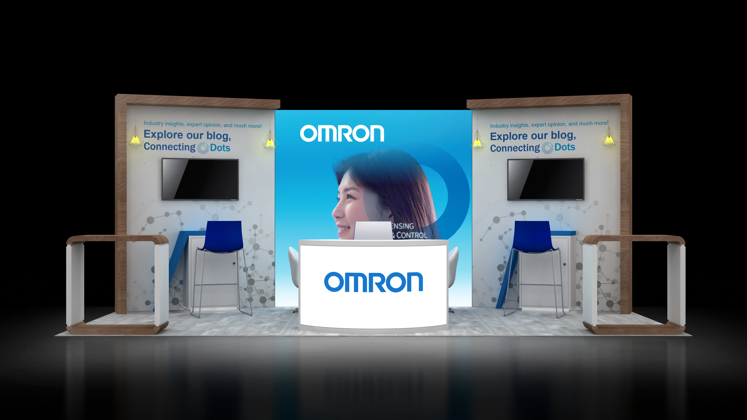 10×20 Modular Booth Designs and Rental Exhibits Displays