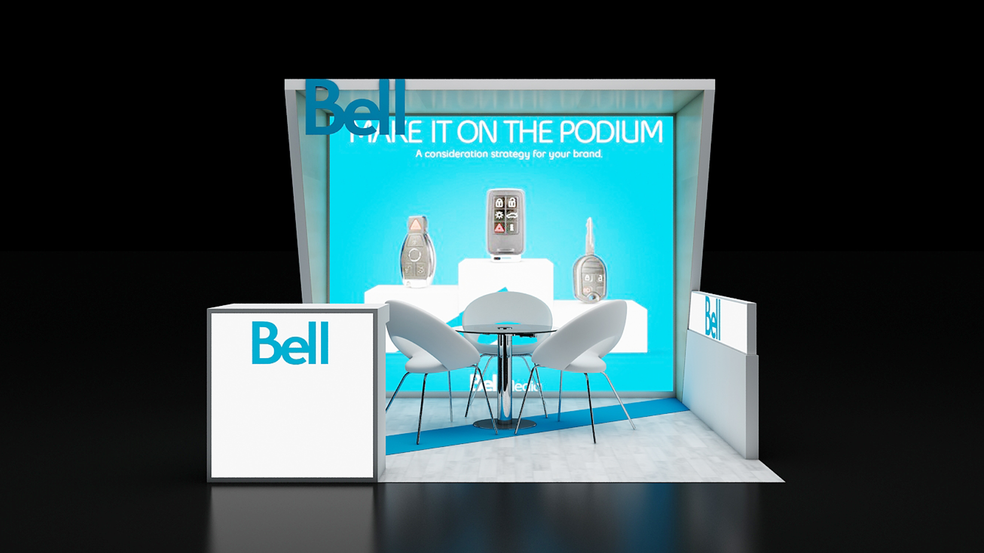 10×10 Modular Booth Designs and Rental Exhibits Displays