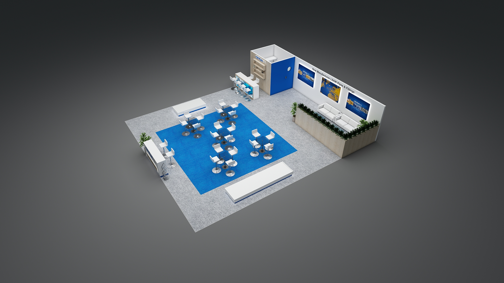 , 30×30 Trade Show Booth Displays & Exhibits