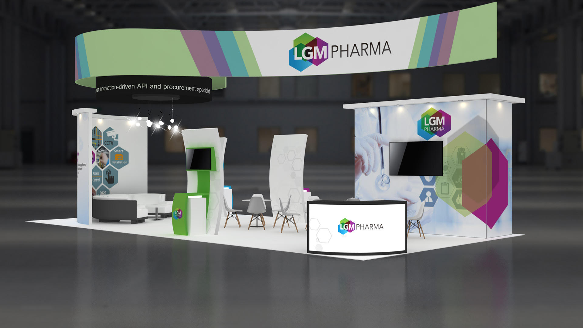 20×40 Trade Show Booth Displays & Exhibits