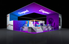 , 40×40 Trade Show Booth Displays & Exhibits