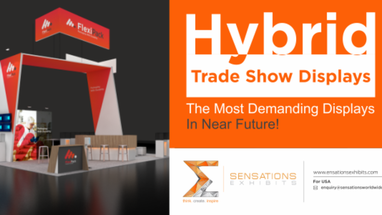 Hybrid Trade Show Displays- The Most Demanding Displays In Near Future!