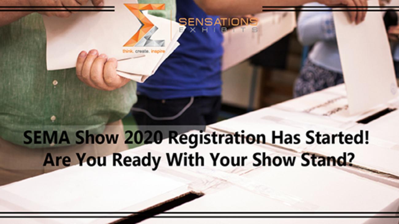SEMA Show 2020 Registration