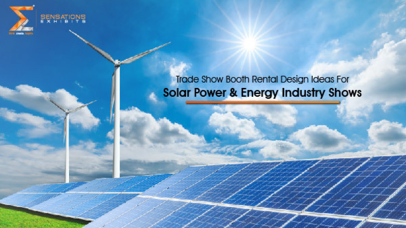 Trade Show Booth Rental Design Ideas For Solar Power & Energy Industry Shows-30